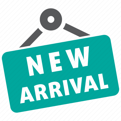 arrival, new, shopping icon