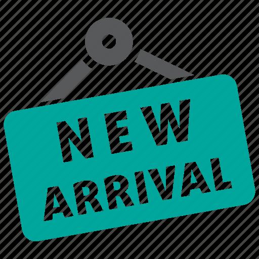 arrival, fashion, new, shopping icon