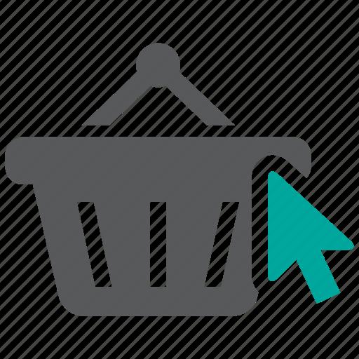 basket, purchase, shopping icon