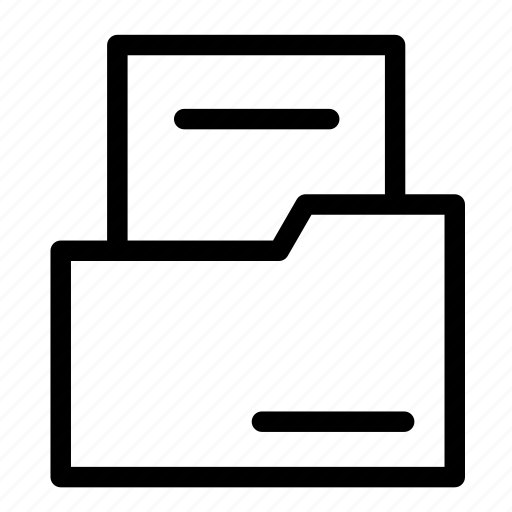 document, file, folder, shop icon