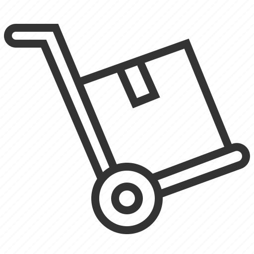 box, delivery, package, service, support, transportation icon