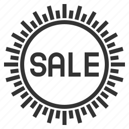 ecommerce, label, sale, shopping, sign icon