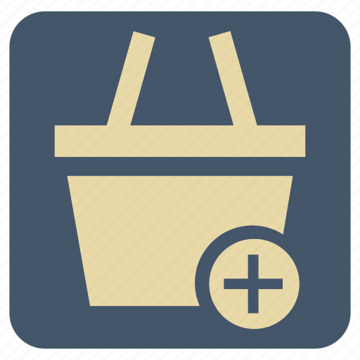 add, shopping, supermarket icon