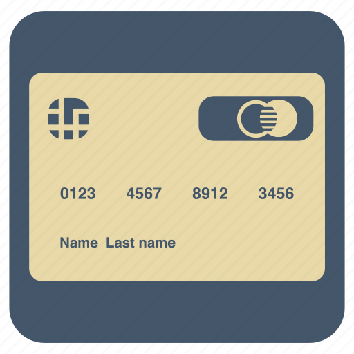 card, master, shopping, supermarket icon