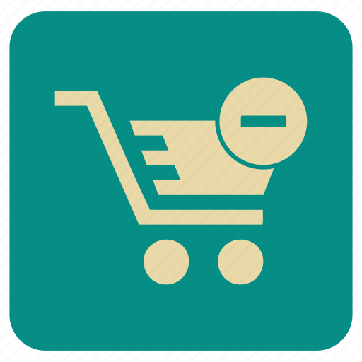 empty, shopping, supermarket, trolly icon