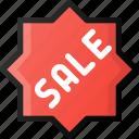 commerce, ecommerce, sale, sticker