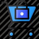 cart, ecommerce, lock, shopping