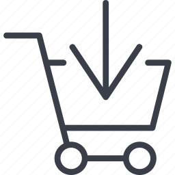 basket, business, buy, shopping icon