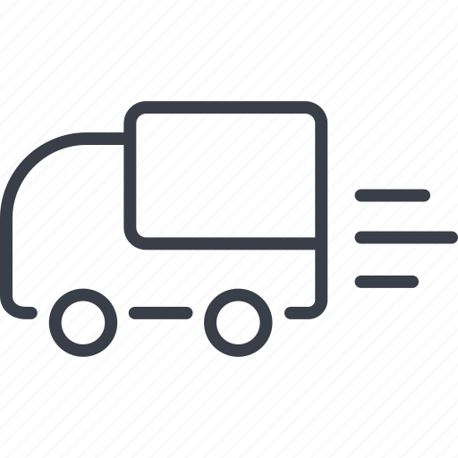 business, car, delivery, shopping icon