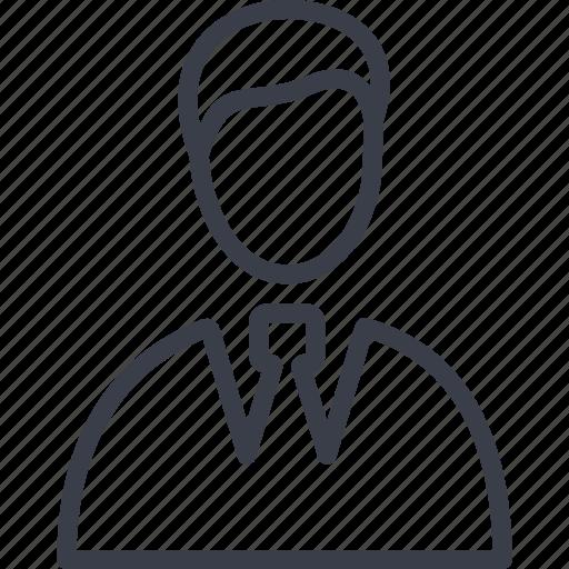 avatar, man, seller, shopping icon