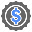 coin, dollar, money, payment, shopping icon