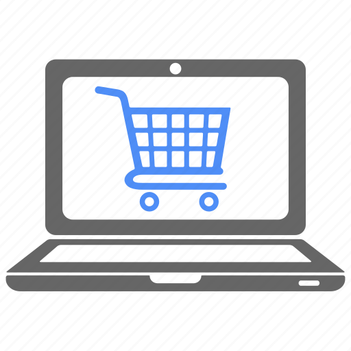 buy, cart, computer, ecommerce, laptop, shop, shopping icon