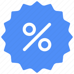 percent, percentage, price tag, promotion, sale, shop, tag icon