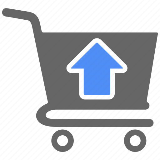buy, cart, ecommerce, online, shop, shopping, up icon
