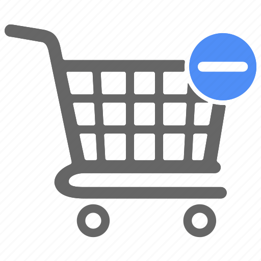 cart, ecommerce, minus, remove, shop, shopping icon