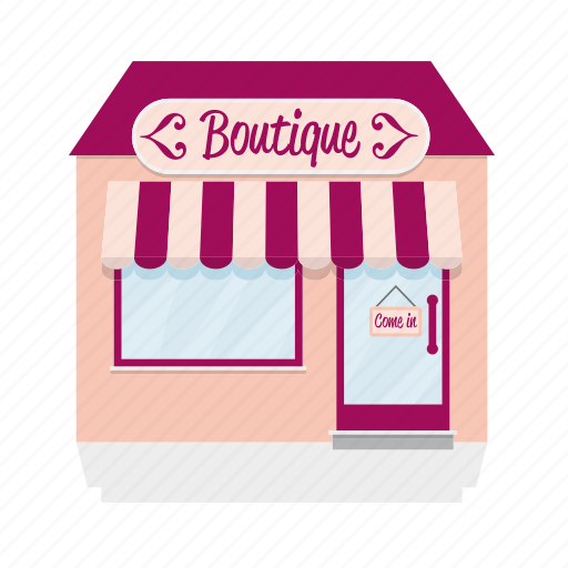 awning, boutique, building, clothing, house, shop, store icon