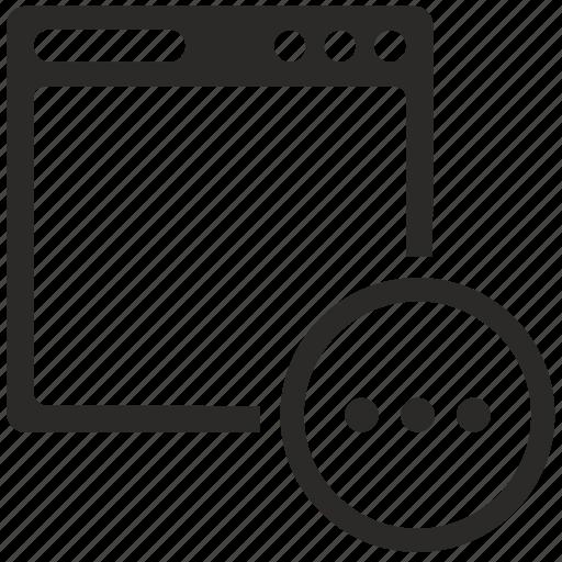 additional, api, menu, program, script icon