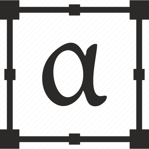 alpha, alphabet, greek, letter icon