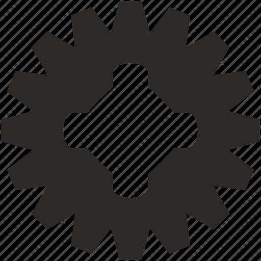 complex, detail, part, spare icon