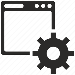 api, configuration, option, script icon
