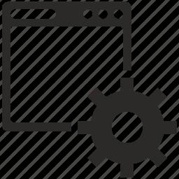 api, configuration, option, program, script, settings icon