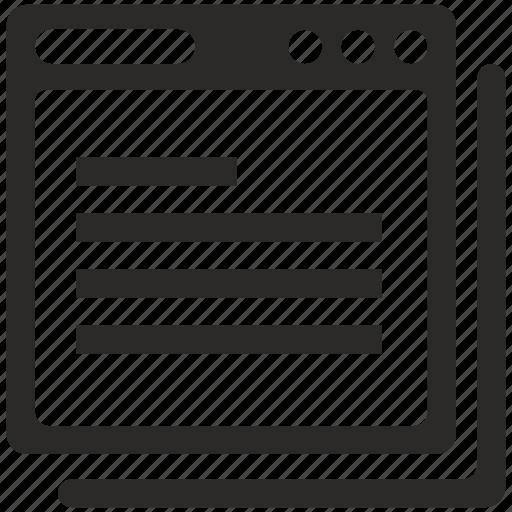 api, code, program, script, window icon