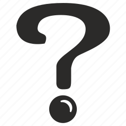 ask, punctuation, quest, question, sign icon