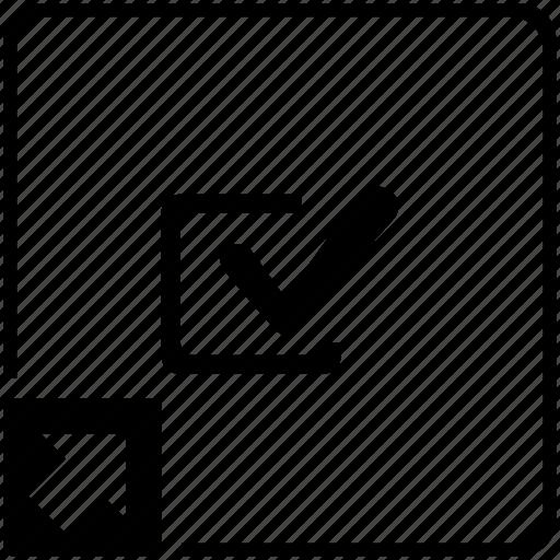 accept, agree, check, checkbox, shortcut icon