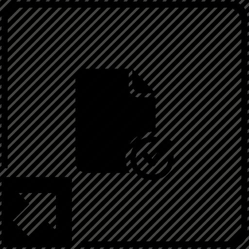 accept, check, doc, document, shortcut icon