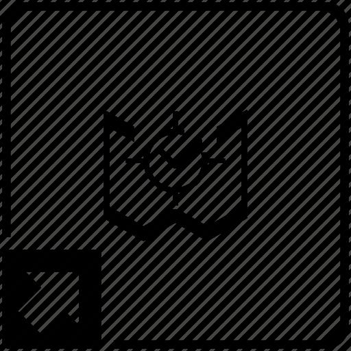 aim, map, ok, shortcut, target icon