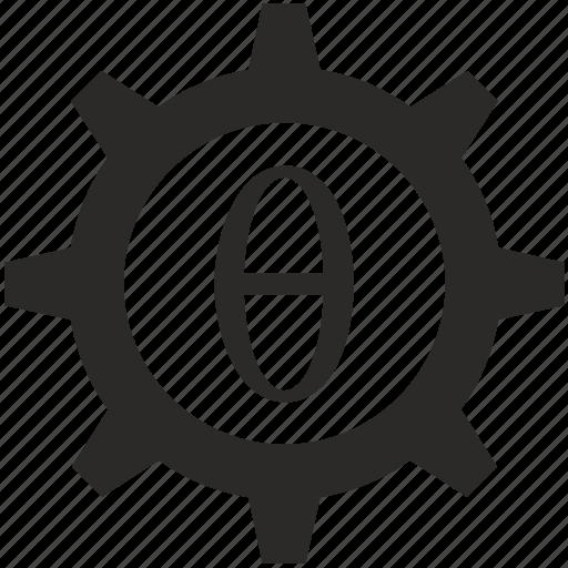 Alphabet Greek Letter Theta Icon Icon Search Engine