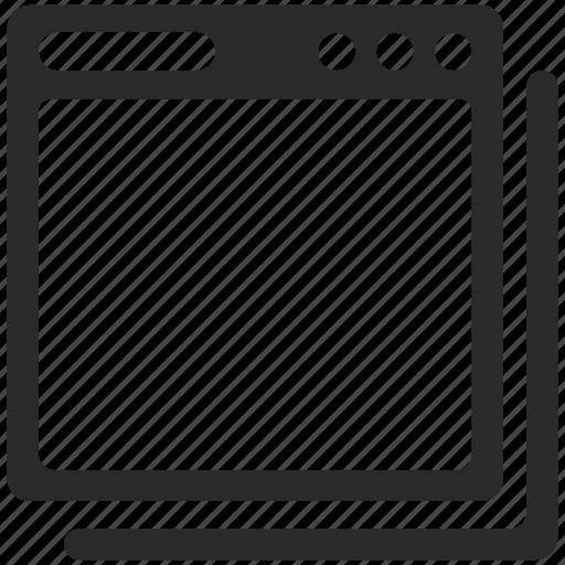 operation, process, program, window icon
