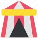 camp, carnival, circus, party, pavilion, show, tent icon