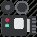 camera, cinema, film, movie, operator, show, video icon