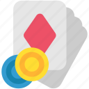cards, casino, game, gaming, play, poker, show icon