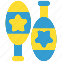 carnival, circus, festival, juggle, juggler, maracas, show icon