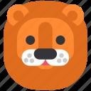 animal, animals, circus, lion, show, wild, zoo icon
