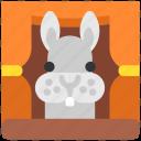 bunny, circus, cute, easter, fun, rabbit, show icon