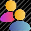 friends, group, partnership, teamwork, users