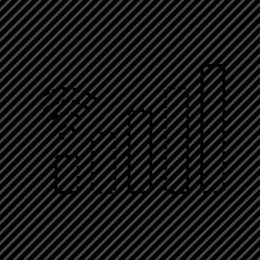 mobile signal  signal  signal bars  wi fi  wifi signal icon