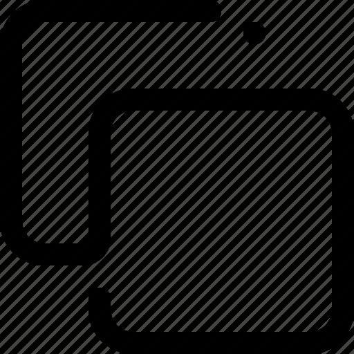 copy, layer, layers, multiple, restore, square, windows icon