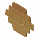 architecture, fence, isometric, logo, object, picket, wooden