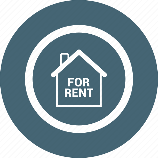 estate, for, house, real, rent icon