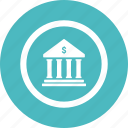 bank, banking, cash, finance, money icon