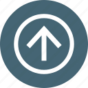 arrow, control, player, top, up