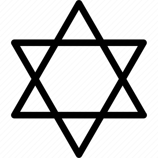 ancient, creative, david, dimension, grid, inner, jew, mystery, objects, outer, shape, sign, star icon