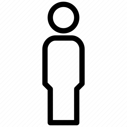 avatar, creative, grid, human, male, men, objects, person, shape, sign, user icon