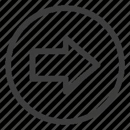 arrow, arrows, direction, next, right icon