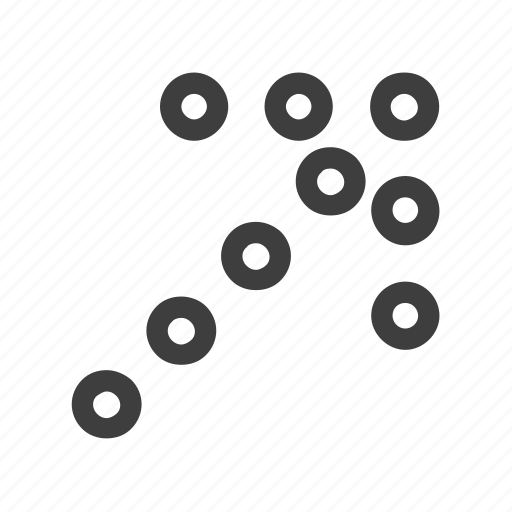 arrow, arrows, direction, right, upper icon