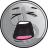 bullion, cartoon, coin, emoji, silver, smiley icon